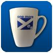 'one more yes' Mug (bone china)