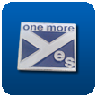 'one more yes' Pin Badges