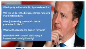 David Cameron risk