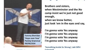 I'm going to vote Yes anyway!