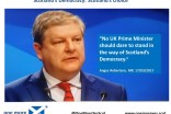 Angus Robertson NO UK Prime Minister