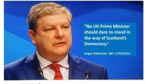 Angus Robertson NO UK Prime Minister