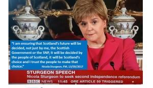 Nicola Sturgeon second independence referendum
