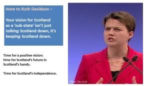 Ruth Davidson Sub-State